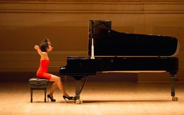 Wang Yujia pianista cinese