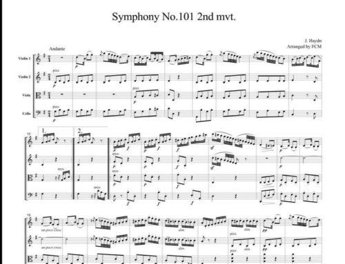 L'orologio, sinfonia n. 101 in re maggiore